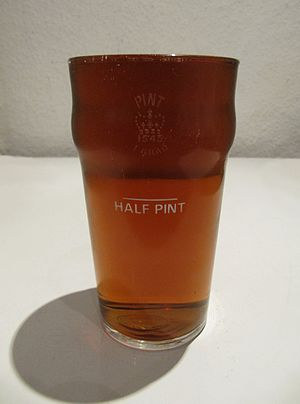 Pint - A full pint glass
