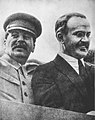Vycheslav Molotov and Joseph Stalin May 1932.jpg