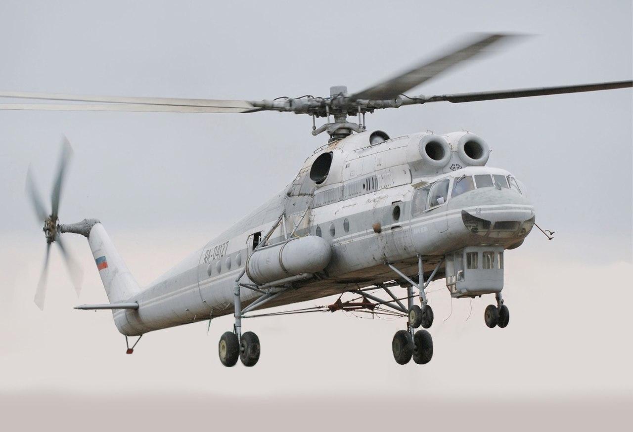 Vzlet Mil Mi-10K