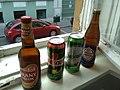 Węgierskie piwa w Budapeszcie - maj 2018.jpg
