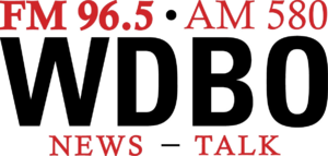WDBO-FM - Former logo of the radio station used from August 19, 2011 through December 2011