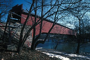 Bern Township, Berks County, Pennsylvania - Wertz's Covered Bridge