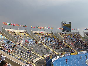 2008 World Junior Championships in Athletics - Zdzisław Krzyszkowiak Stadium, the host venue of the Championships.