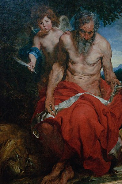 File:WLANL - thedogg - Heilige Hieronymus, Antoon van Dijk (1618 - 1620).jpg