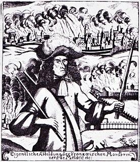 Ezéchiel du Mas, Comte de Mélac French general