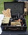 WWII tool case at Easton Lodge Gardens, Little Easton, Essex, England.jpg