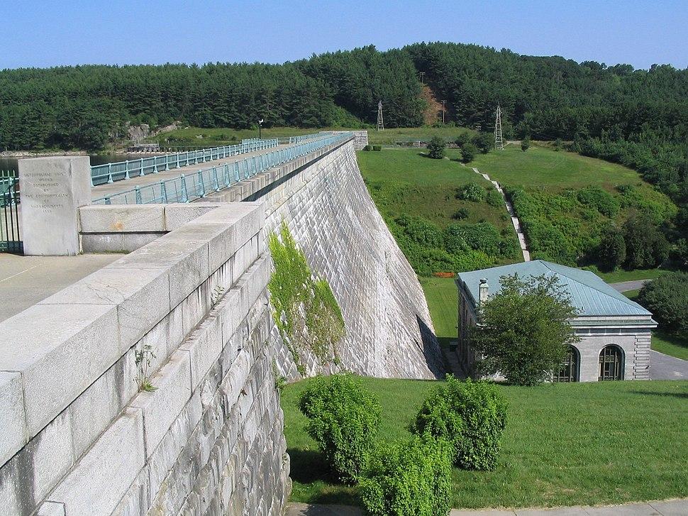 Wachusett-dam