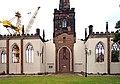 Wall of St Mary's church, Birkenhead Priory 1.jpg