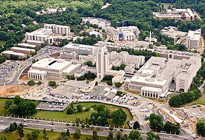 Walter Reed National Military Medical Center - The Walter Reed National Military Medical Center in June 2011.