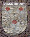 Wappen von Meung-sur-Loire, einer Partnerstadt von Gundelfingen.jpg