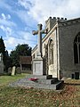 War Memorial, All Saints Church at Marsworth - geograph.org.uk - 1526562.jpg