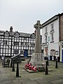 War memorial Llanfyllin - geograph.org.uk - 1574429.jpg