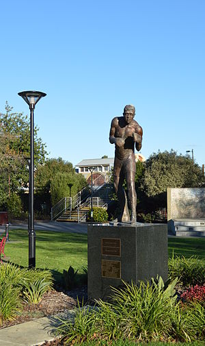 Lionel Rose - A statue of Rose in Warragul