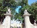 Warszawa, brama wjazdowa do pałacu wilanowskiego (Aw58).jpg