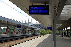 Szybka Kolej Miejska (Warsaw) - One of the stations - Warszawa Stadion