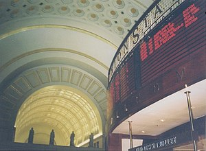 English: Union Station in Washington DC. Scan ...