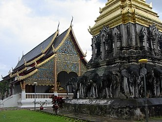 Chiang Mai - Wat Chiang Man, the oldest Buddhist temple in the city