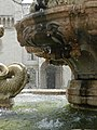 Water of the Fontana del Nettuno on the Piazza Duoma, Trento, Italy.jpg