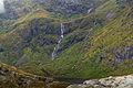Waterfall near Mengelsdalstinden, Moskenesøya, Lofoten, Norway, 2015 September.jpg