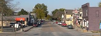Waterloo, Nebraska - Downtown Waterloo