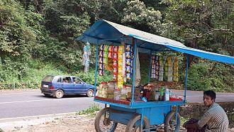 Thamarassery - Vendor in Wayanad road
