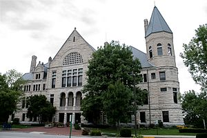 Richmond, Indiana - Wayne County Court House