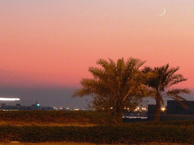 Hilal terlihat di Bahrain