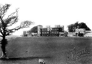 Wenvoe Castle - Wenvoe Castle and estate in 1899