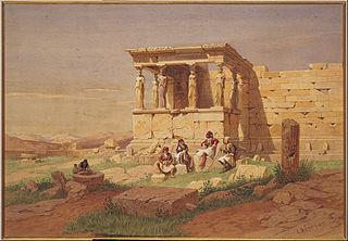 The Prostasis  of the Caryatids on the Erechtheion