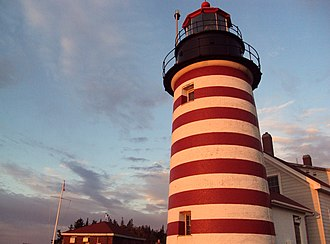 West Quoddy Head Light - Image: West Quoddy Lighthouse 2
