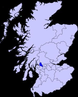 West Dunbartonshire (UK Parliament constituency) - Image: West Dunbartonshire council