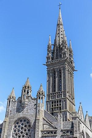 Kreisker chapel - The Kreisker is a famous church of Brittany