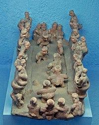 Western Mexican tomb culture tableau (Tom Aleto).jpg