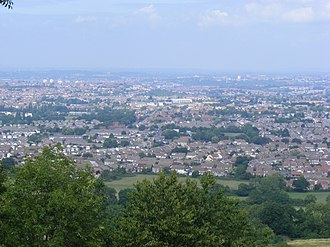 Whitchurch, Bristol - Whitchurch taken from Maes Knoll