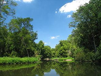 White Clay Creek - White Clay Creek running through Newark, Delaware