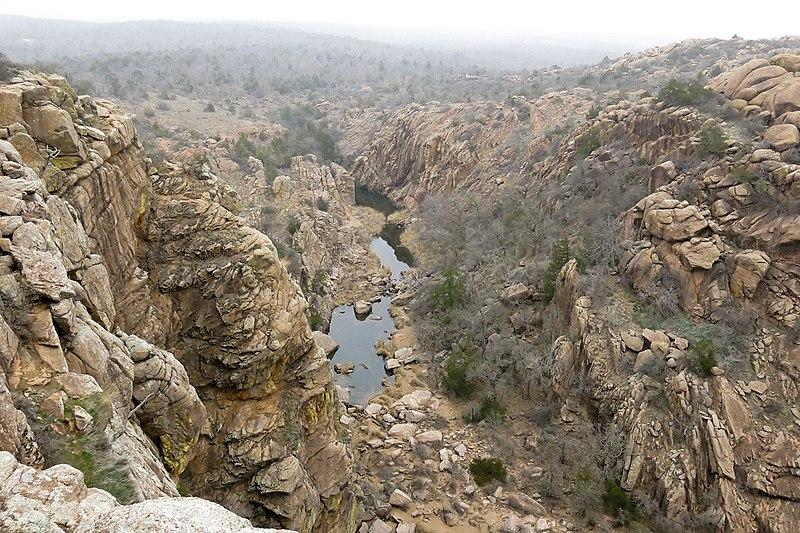 File:Wichita Mountains Narrows.jpg