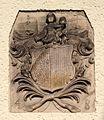 Wiedelah, kath. Kirche, Wappen des Bistums Hildesheim (1748).jpg