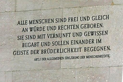Wien-Parlament,Menschenrechte