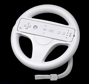 Mario Kart Wii - Mario Kart Wii is bundled with the Wii Wheel accessory.