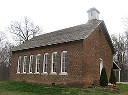 Wilbur's old schoolhouse