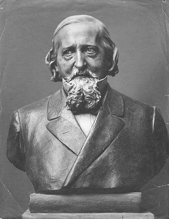 Wilhelm Ahlwardt - Bust of Wilhelm Ahlwardt by Wilhelm Wandschneider.
