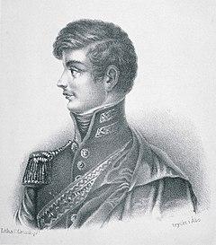 Wilhelm von Schwerin, C. Grosskopfin litografia vuodelta 1866.