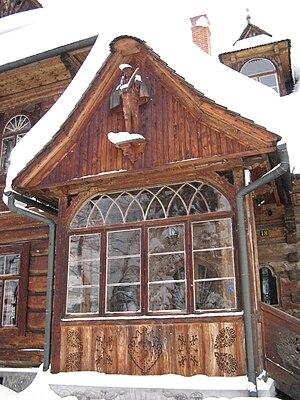 """Zakopane Style - Villa """"Koliba"""" detail"""