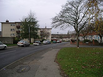 Willenhall, Coventry - Image: Willenhall robin hood rd 24n 07
