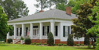 National Register of Historic Places listings in Dooly County, Georgia - Image: William Byrom House, Dooly, GA, US