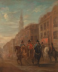 Restoration Procession of Charles II at Cheapside