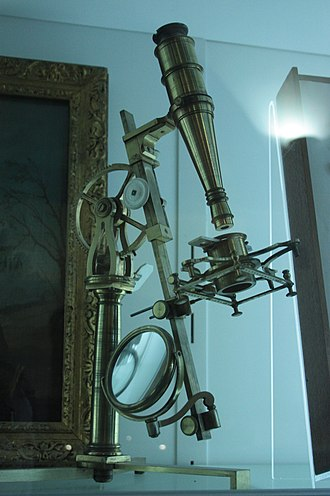 William Hunter (anatomist) - William Hunter's microscope, Hunterian Museum, Glasgow