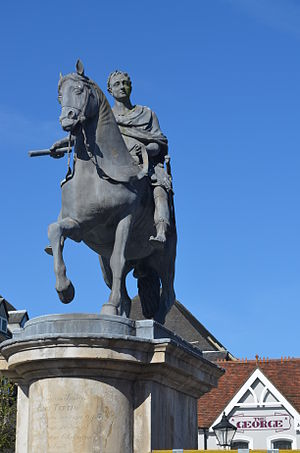 Henry Cheere - Statue of William III in Petersfield (c. 1757)