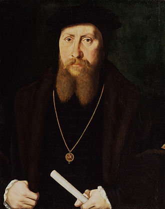 William Paget, 1st Baron Paget - Painting of William Paget, attributed to Master of the Stätthalterin Madonna