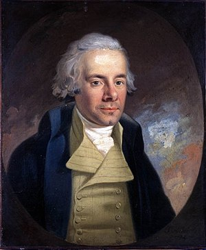 Slave Trade Act 1807 - William Wilberforce, the leader of the British campaign to abolish the slave trade